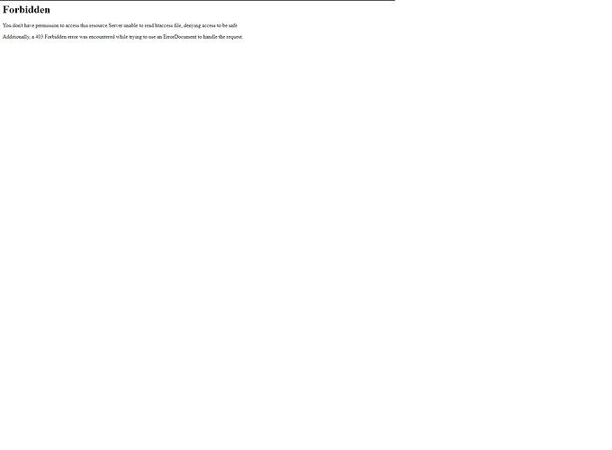 error publish