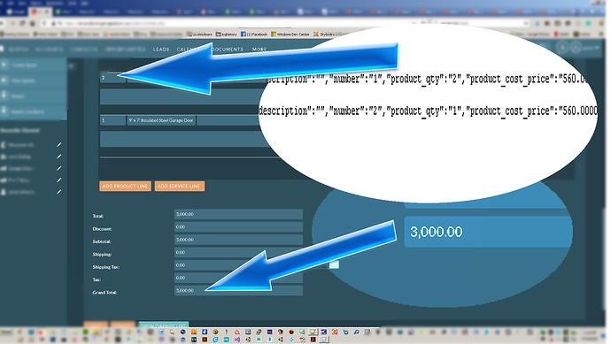 integer product_qty